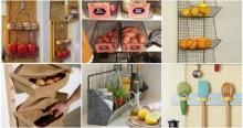 15ไอเดียชั้นวางของเก๋ ๆ แบบ DIY ใช้งานในห้องครัว