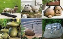 13 ไอเดียเปลี่ยนก้อนหินที่ไร้ค่า มาเป็นของใช้ของตกแต่ง ให้กับสวนและบ้าน