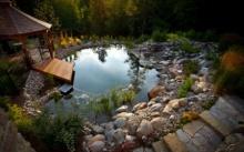 ไอเดียสระว่ายน้ำ อิงแอบไปกับธรรมชาติ