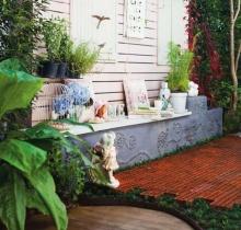 สวนสไตล์อิงลิชคันทรีผสมกลิ่นอายวินเทจ อีกหนึ่งสวนที่มักถูกใจ คนหวานๆ