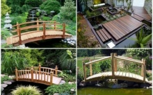 ไอเดีย สะพานไม้ ข้ามน้ำ ข้ามบ่อน้ำ