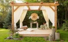10 ไอเดียสุดสร้างสรรค์ จัดมุมพักผ่อนในสวนหลังบ้าน