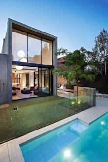 บ้านเล็กๆ สไตล์โมเดิร์น สวยๆผสมคอนกรีตเปลือย ชอบมั้ย!