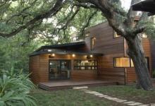 แบบบ้านไม้สวยทันสมัยสไตล์โมเดิร์น ท่ามกลางธรรมชาติ