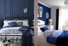 สวยสง่า กับห้องนอนสี NAVY BLUE ที่มองกี่ทีก็มีความแพง