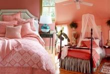 สวยสดใส กับไอเดียห้องนอนโทนสี CORAL สไตล์หวานอมเปรี้ยว