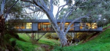 แบบบ้านทรงยาวสวยๆ ท่ามกลางธรรมชาติของแท้