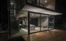 บ้านตากอากาศขนาดเล็ก ตกแต่งด้วยวัสดุทันสมัย ในสไตล์ลอฟท์