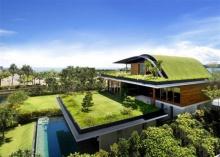 บ้านในฝัน! SKY GARDEN HOUSE บ้านสวยหลังคาสนามหญ้า เย็นสบาย