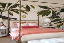 สดชื่นไปทั่วบ้าน กับไอเดียแต่งห้องภายในบ้านด้วยลวดลายใบไม้สีเขียว