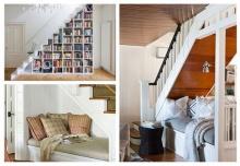 รวบรวม 5 วิธีในการบริหารพื้นที่ใต้บันไดอย่างชาญฉลาด แต่งให้บ้านสวย