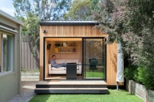 แบบห้องทำงานส่วนตัวในสวน ถึงจะเล็กแต่เป็นอิสระ