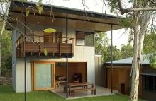 บ้านชนบท 2 ชั้น ต่อเติมความเรียบง่ายในพื้นที่บ้านเดิม (งบหลักแสน)