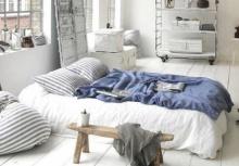 ไอเดียเก๋ๆ!!จัดห้องนอนสไตล์มินิมอล ไม่ต้องมีเตียงก็นอนสบาย!!