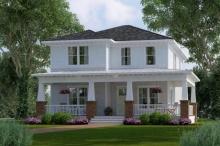 บ้านใหญ่สองชั้น ออกแบบสวยงาม ภูมิฐาน